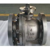 Buy cheap Two Piece Cast Steel Floating Low Pressure Ball Valve from wholesalers