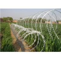 Wholesale Hot Dipped Galvanized HDG CBT 65 Razor Wire Stainless Steel High Security from china suppliers