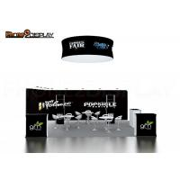 Buy cheap Lightweight Custom Trade Show Booth / Tension Fabric Collapsible Booth Design from wholesalers