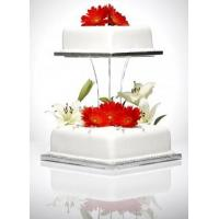 Buy cheap Beautiful Shape Acrylic Cake Stand Acrylic Displays from wholesalers