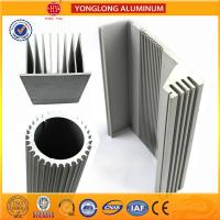 Buy cheap Silver White Industrial Powder Coated Aluminium Extrusions Heat Insulation from wholesalers