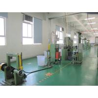 China 150 kg/h Cable Extrusion Line PVC / PE 1.0 - 10.0 mm Wire Extruder Machine Equipment on sale