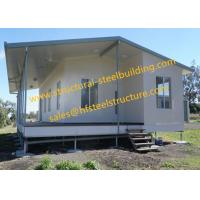 Buy cheap Prefabricated Module Readymade House Lightweight Sandwich Panel Residental Housing Units from wholesalers