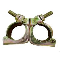 Wholesale High Strength Tube And Clamp Scaffolding  Forged Swivel Clamp ROSH Certification from china suppliers