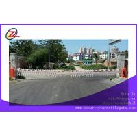 Custom Double fence RS 485 Tubular Barrier Gates / Traffic Arm Barriers Manufactures