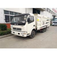 Buy cheap Dongfeng 6CBM Road Sweeper Truck Road Cleaning With Customized Color from wholesalers