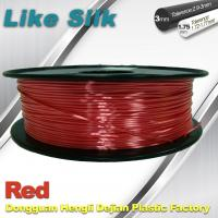 Buy cheap Imitation Silk Filament Polymer Composites 3d Printer Abs Filament Red Color from wholesalers