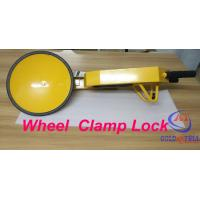 Popular under Shockproof car wheel lock for Government project , Custom Painting Logo Manufactures