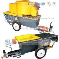 Buy cheap 4m3 / H Mortar Spraying Machine Exterior Wall Plastering Pumping Delivery 30m from wholesalers