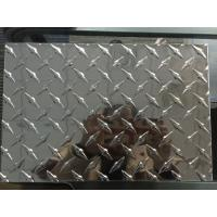 Buy cheap Customized Diamond Aluminum Sheet Industrial Aluminum Checkered Plate For Boat Lift from wholesalers