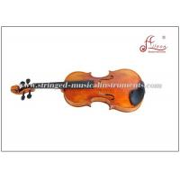 Buy cheap Maple Wood Violin Musical Instruments , Professional Oil Varnish Antique Violins from wholesalers