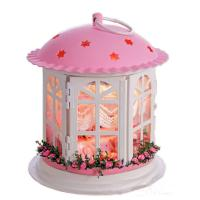 Buy cheap Dollhouse, DIY Lights House, iron art, building model from wholesalers