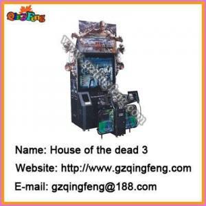 China Simulator shooting machines game seek QingFeng as your distributors on sale