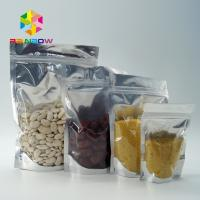 Buy cheap PET / PE Aluminum Foil Pouch Packaging Clear Metallic Foil Stand Up k Bag from wholesalers