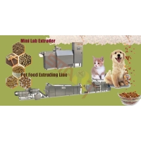 Buy cheap Automatic Dry Dog 200kg / H Pet Food Extruder Machine from wholesalers