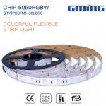 Buy cheap IP20 IP65 IP67 IP68 waterproof high quality led strip DC12V/24V 30 leds 5050 RGBW LED strip outdoor display from wholesalers