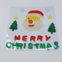 Buy cheap Xmas Day Gel Stickers Window Sticker Jelly  Sticker Spring Gel Clings Christmas Day Gift from wholesalers