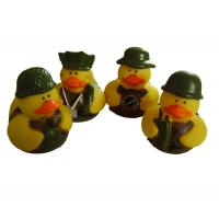 Buy cheap 5cm Length Mini Rubber Ducks Squeezing Bee Design Baby Bath Time Fun Toy from wholesalers