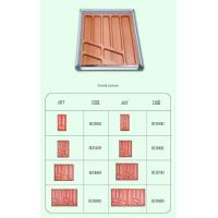Buy cheap Beech Drawer Organizer|Woooden Cutlery Tray|Bamboo Flatware Box|Plastic Gadget Accessories BCH400 from wholesalers