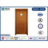 Wholesale Single Open 2 Panel Interior Fire Doors , Gray Fire Rated Interior Wood Doors from china suppliers