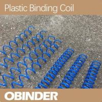 Buy cheap Plastic spiral binding coil customized pitch from wholesalers