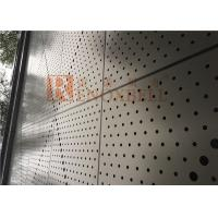 Buy cheap Metal Round Holes Punched Aluminum Soffit Panels With CNC Machine from wholesalers