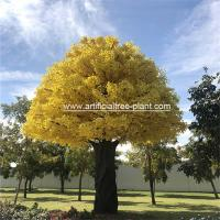 Wholesale Large Fiberglass Artificial Ginkgo Tree High Temperature Resistance from china suppliers