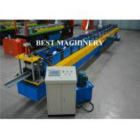 Buy cheap Aluminum Galvanized PVC Roofing Gutter Roll Forming Machine Hall Round from wholesalers