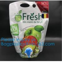 Buy cheap Aluminum Foil Bag In Box 5l Aseptic Bags For Fruit Juice,Aseptic Wine Bag In Box Liquid Packaging Aseptic Soap Milk Juic from wholesalers