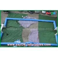 Buy cheap Portable Outdoor Inflatable Soccer Field / Football Field With Printing Logos from wholesalers