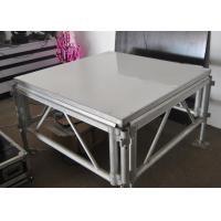 Wholesale Durable 4x4 Ft Aluminum Stage Platform 100-240 Voltage With LED Light from china suppliers