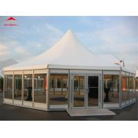 Buy cheap Outdoor High Peak Pagoda Party Tents With 6 Side Flame Retardant from wholesalers