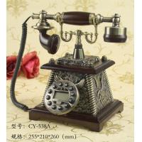 Buy cheap elegant design resin antique telephone for home decoration from wholesalers