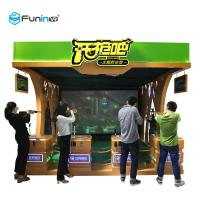 Buy cheap Shooting Game Virtual Reality Machine 220V VR Publish Game Equipment Exciting Gun from wholesalers
