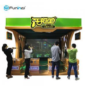 China Shooting Game Virtual Reality Machine 220V VR Publish Game Equipment Exciting Gun on sale