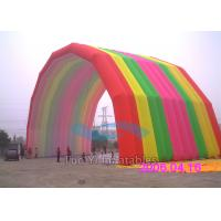 Wholesale Special Rainbow Inflatable Arches Large Event Balloon Entrance Arch from china suppliers