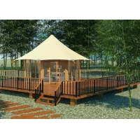 Buy cheap Sound And Heat Insulation One Bedroom Five Star Tent Hotel Accommodation Tent For Sale from wholesalers
