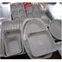 Buy cheap Food Aluminium Foil Container Tray With Lids Aluminium Roasting Pan from wholesalers