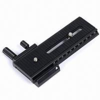Wholesale 2-way Macro Shot Focus Rail Slider for Canon/Nikon/Sony Camera D-SLR from china suppliers