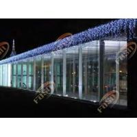 Buy cheap Outdoor Blue Commercial Christmas Dripping LED Icicle Light 120LED 100V 32.5W IP44 from wholesalers