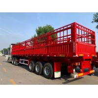 Buy cheap T700 High Tensile Fence Semi Trailer 3*13t Axles 60 Tons Loading For Logistics from wholesalers
