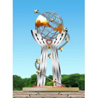 Wholesale Grand earth Urban decoration Stainless steel sculpture from china suppliers