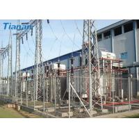 Wholesale 3 Phase 110kV Industrial Oil Immersed Power Transformer With Corrugated Steel Plate Tank from china suppliers
