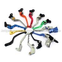 Wholesale Aluminum Motorcycle Brake Clutch Lever Adjustable Long Shorty Folding Levers from china suppliers