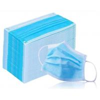 Buy cheap Factory Price Medical Disposable Face Mask, 3ply, ear loop, Blue, oridinary from wholesalers