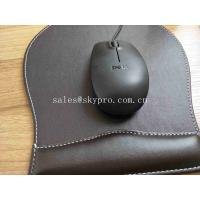 Buy cheap Non - Slip PU Base Neoprene Rubber Sheet Leather Wrist Rest Comfort Gaming Mouse Pad from wholesalers