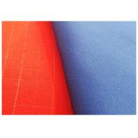Buy cheap Woven Soil Release Finish Fabric Flame Retardant Twill 32x32 Yarn Count from wholesalers