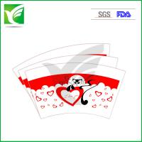 Buy cheap 100% virgin wood pulp PE coated printed paper cup fan/paper fan for cups from wholesalers