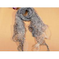 Buy cheap Fashion Long Plain Silk Scarves For Women Wearing from wholesalers