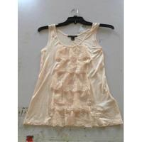 Buy cheap excess garments -10000pcs F21 girl vest forever twenty one sleeveless Knit tops stock from wholesalers
